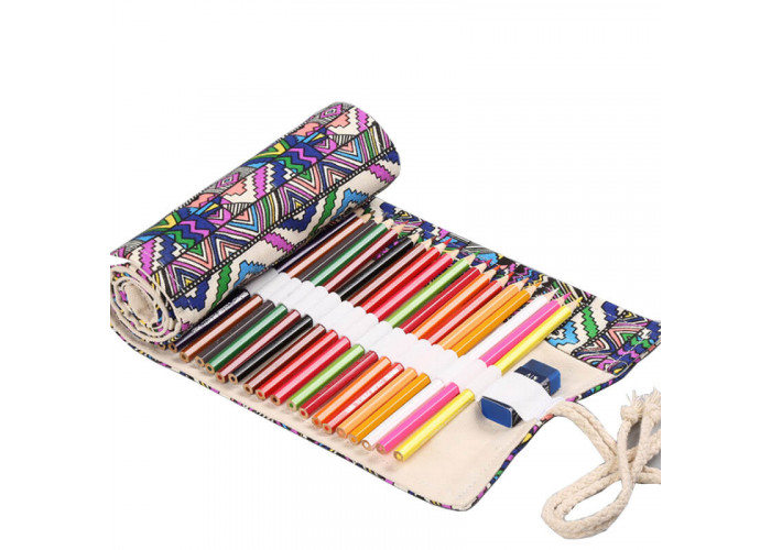 """Pencil box roll Neoline for pencils 36 pc. without filling """"Ornament"""""""
