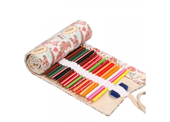 """Pencil box roll Neoline for pencils 48 pc. without filling """"Paris"""""""